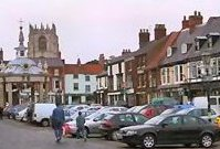 Beverley's busy and thriving town centre with plenty of shops and restaurants.